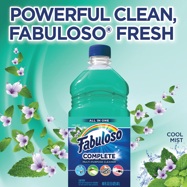 Powerful, Clean, Fabuloso Fresh